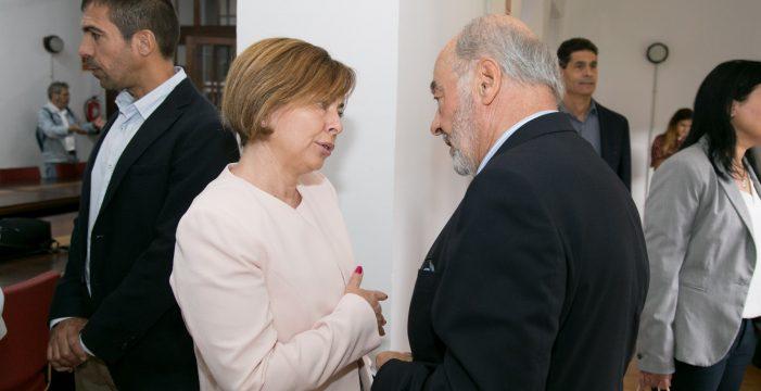 Raimundo Baroja y Rosa Aguilar apuestan por impulsar los cambios en la ULL