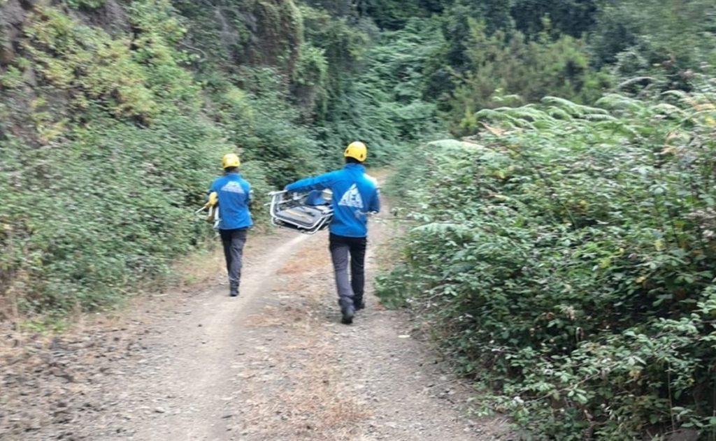 El hombre fue rescatado por los servicios de emergencia en La Gomera| AEA Canarias