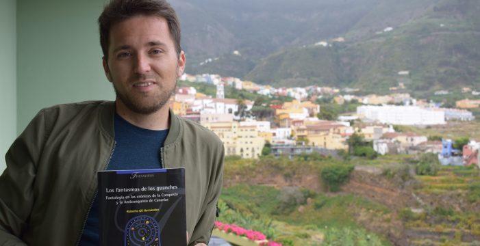 TEA acoge la presentación del libro 'Los fantasmas de los guanches', de Roberto Gil