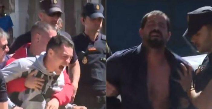 """Tensión máxima en los juzgados por las dos mujeres asesinadas en Aranjuez: """"Juanin, te vamos a quitar la familia"""""""