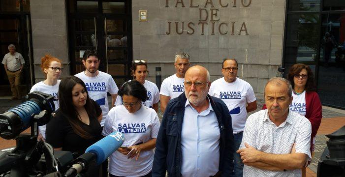 Podemos pide a la Justicia la paralización cautelar urgente de las obras del hotel de La Tejita