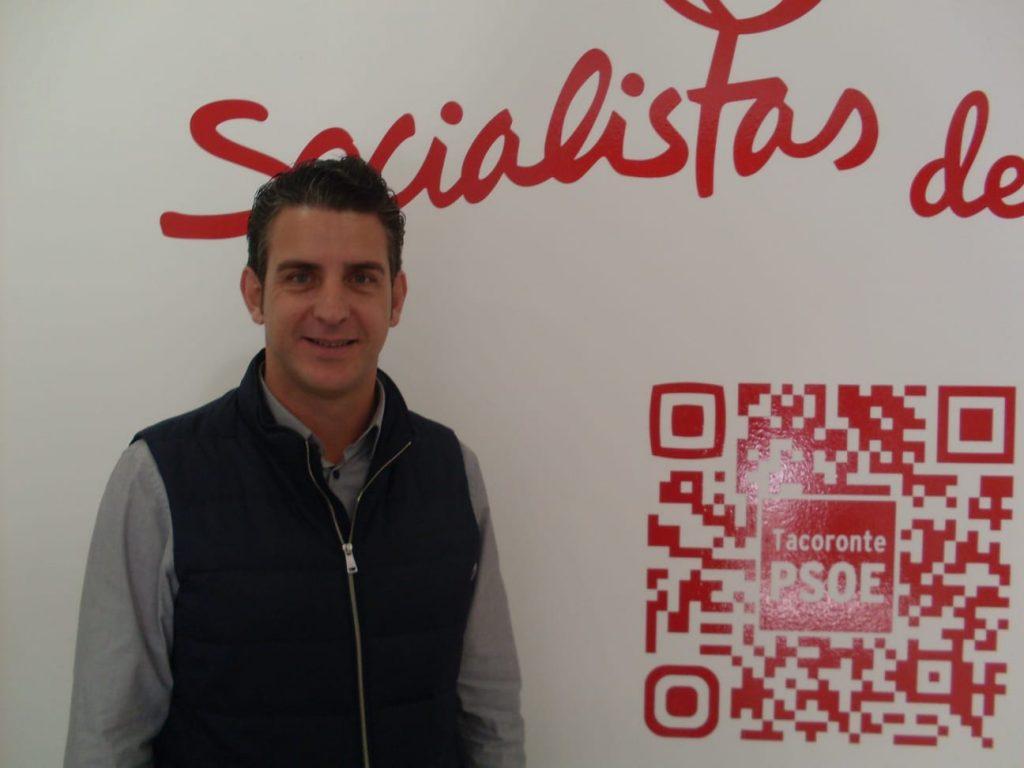 Carlos Medina, candidato socialista a la Alcaldía de Tacoronte| DA