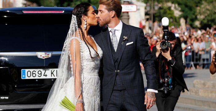 Pilar Rubio le copia su vestido de novia a otra famosa