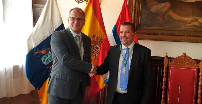 Juan José Cabrera Guelmes (PP), nuevo alcalde de Santa Cruz de La Palma con el apoyo de CC
