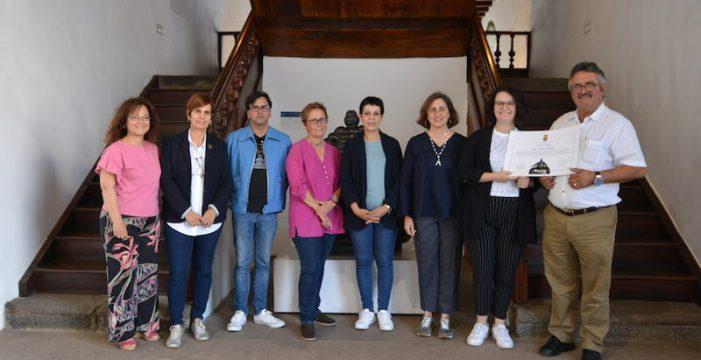 Laura Álvarez, ganadora del concurso literario impulsado por el Museo Insular con motivo del Día del Libro