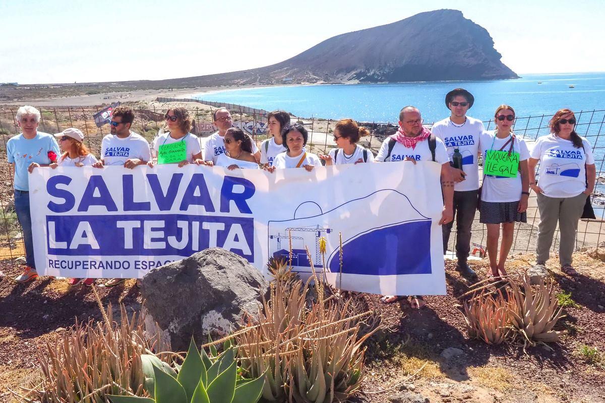 Salvar La Tejita gana la primera batalla hasta el nuevo deslinde