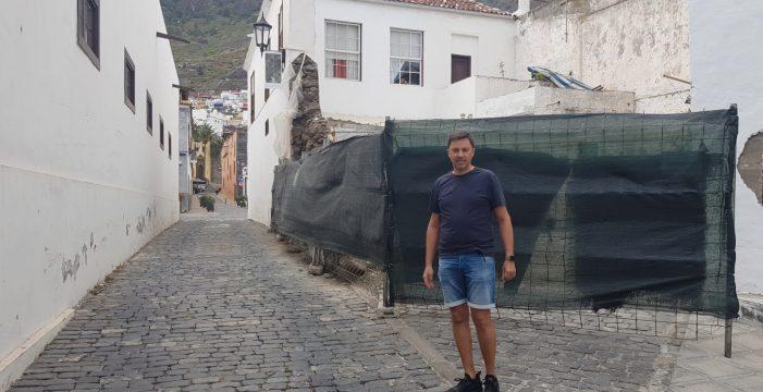 La burocracia impide arreglar una vivienda de Garachico que destrozó el temporal