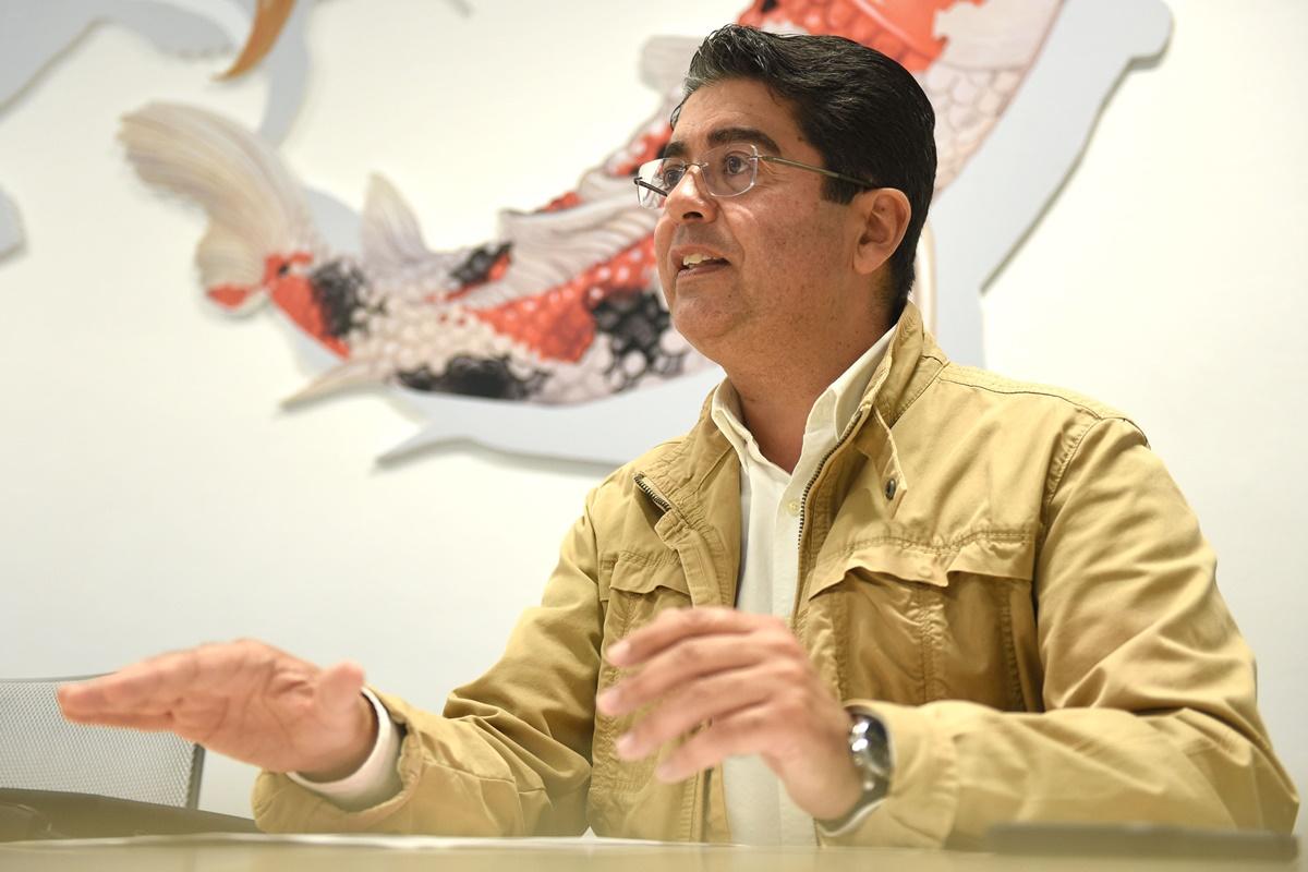 El candidato socialista a la Presidencia del Cabildo de Tenerife, Pedro Martín. Sergio Méndez