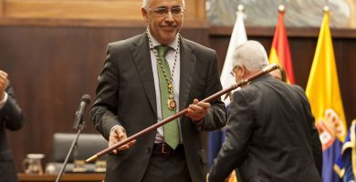 Morales (NC) e Ibarra (PSOE) ratifican el pacto para el Cabildo de Gran Canaria