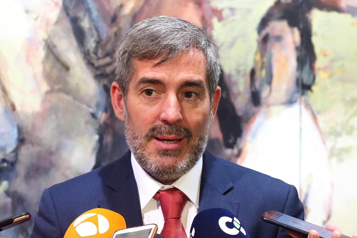 Fernando Clavijo, presidente del Gobierno de Canarias en funciones. Sergio Méndez