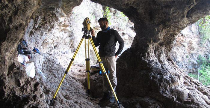 Los restos hallados en la Cueva de Bencomo datan del siglo VIII