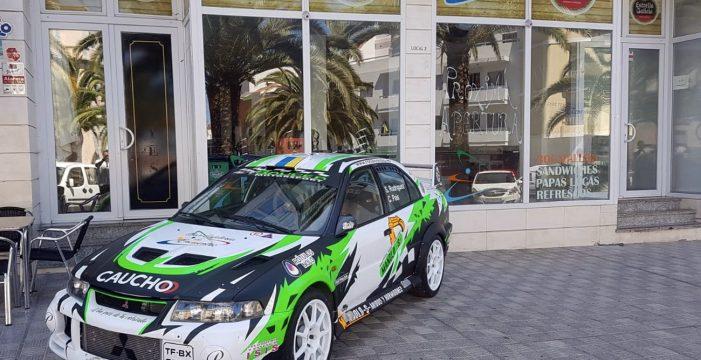 Rodríguez y Pérez lideran el Rallysprint Cielo de La Palma