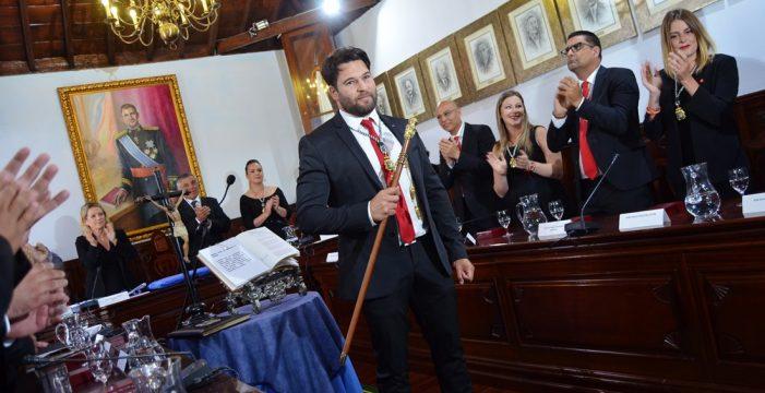 Airam Puerta (PSOE) y Gustavo Pérez (CC) se reparten la Alcadía de Güímar