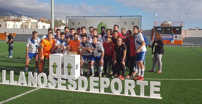 El cadete del CD Tenerife se proclama campeón de Canarias