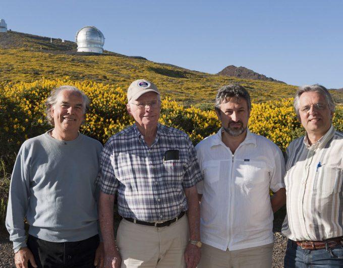 Las visitas de Neil Armstrong, Edwin Aldrin y Michael Collins a Canarias