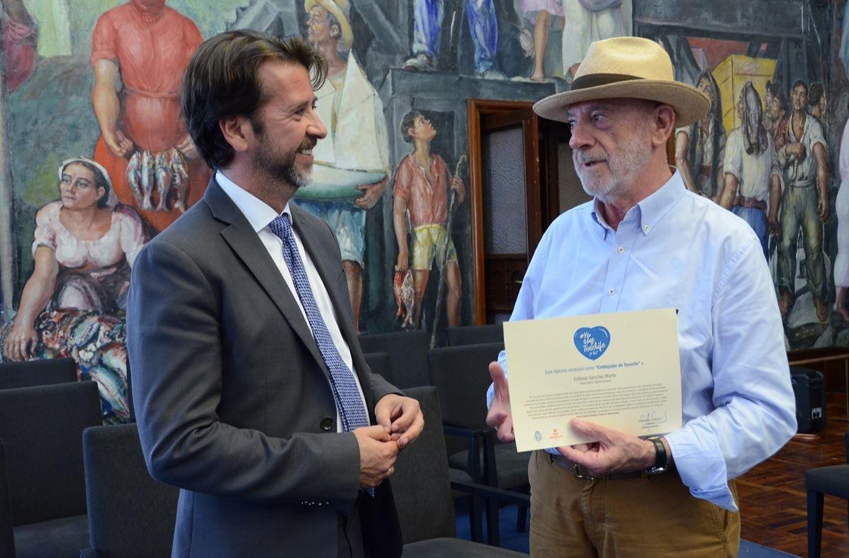Carlos Alonso y Eufrasio Sánchez. DA