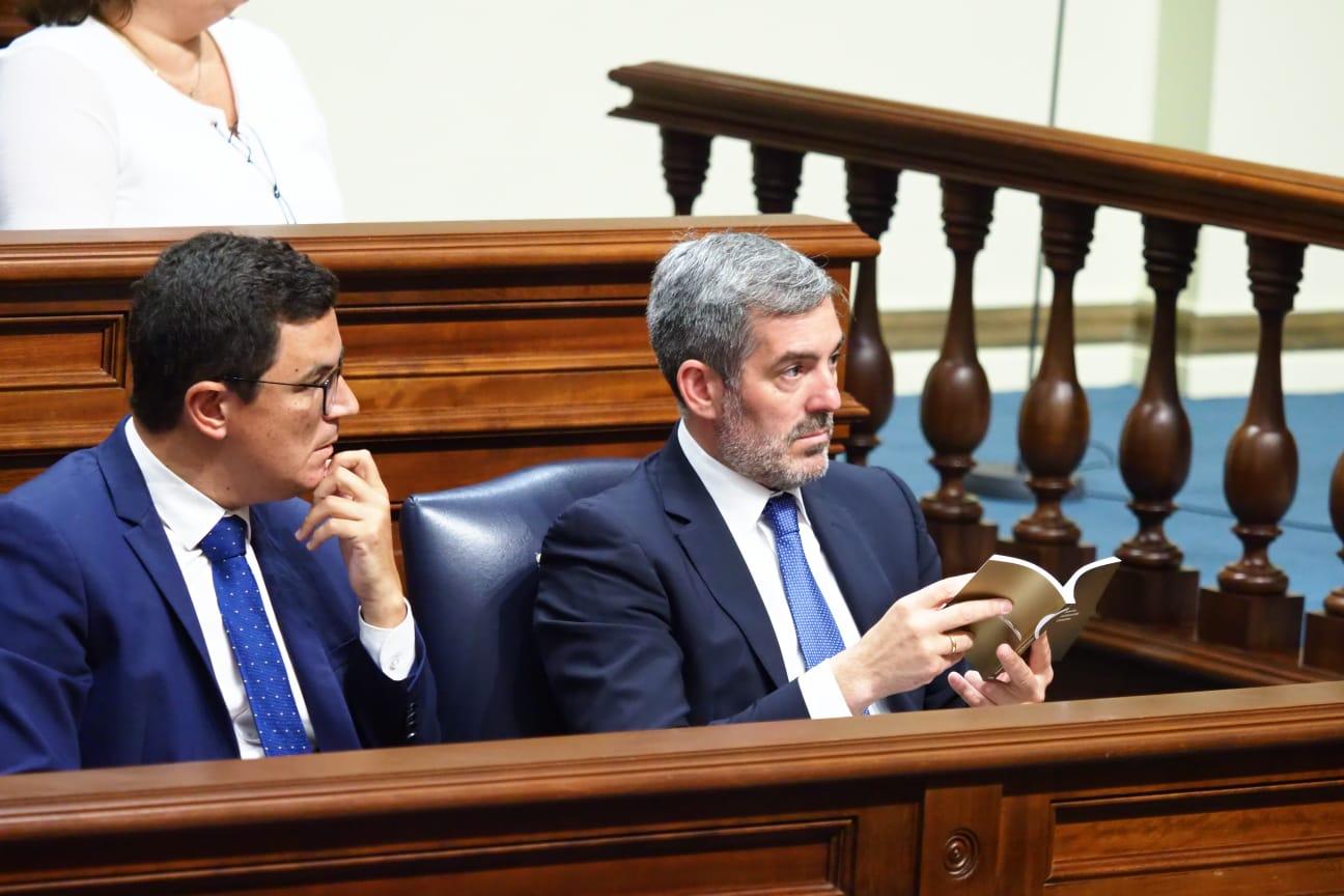 Debate de investidura de Ángel Víctor Torres (PSOE) en el Parlamento de Canarias (1)