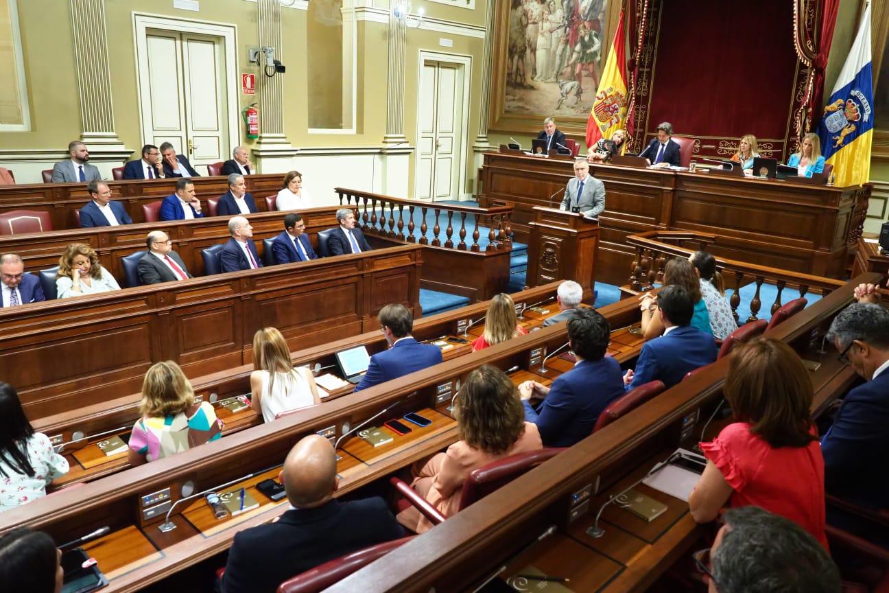 Debate de investidura de Ángel Víctor Torres (PSOE) en el Parlamento de Canarias