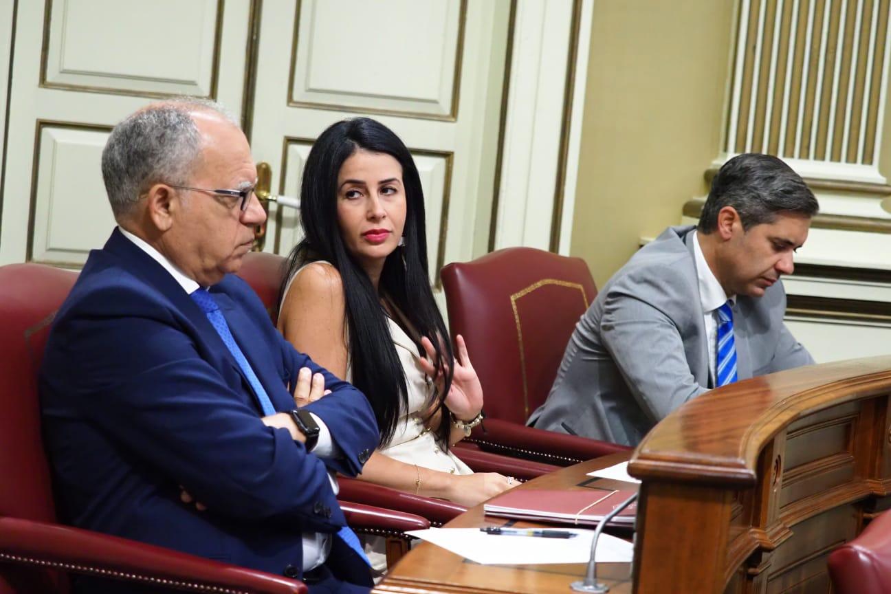 Debate de investidura de Ángel Víctor Torres (PSOE) en el Parlamento de Canarias 2