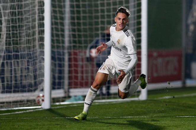 Dani Gómez. Real Madrid