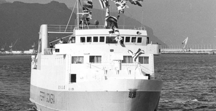 Cuando La Gomera logró su 'autopista' por mar