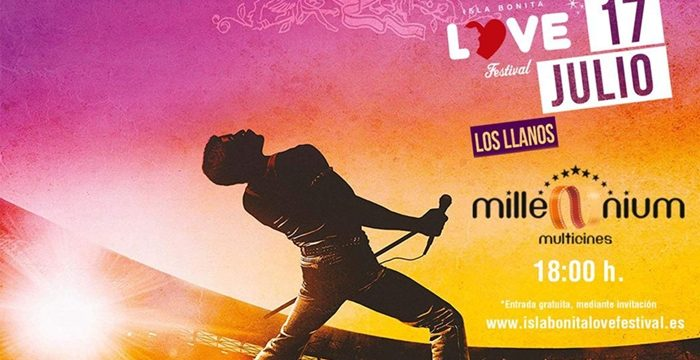 'Bohemian Rhapsody' llenará las tres salas de Multicines Millenium en el Love Festival