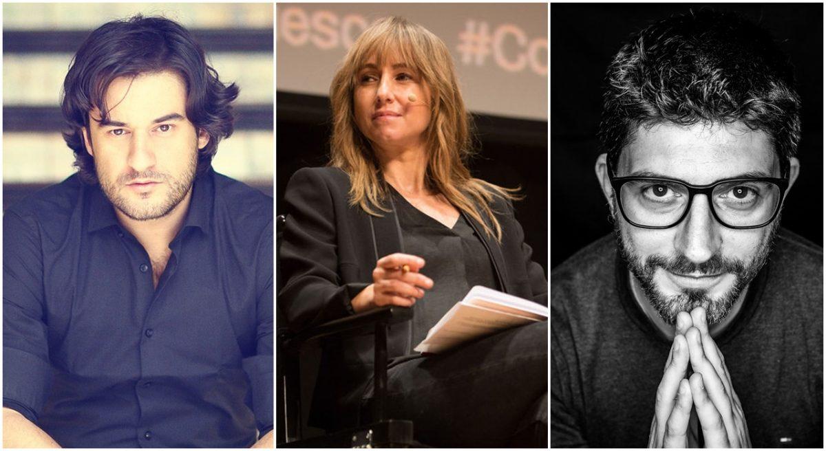 Manuel Jabois, Ana Pardo de Vera y José A. Pérez Ledo son los tres destacados periodistas que visitan el Espacio Cultural CajaCanarias. DA
