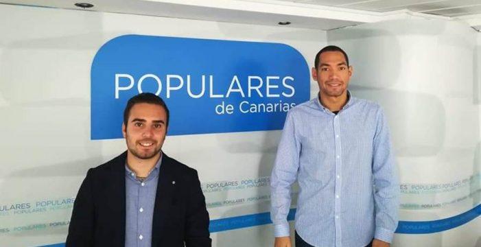 Nuevas Generaciones celebra que el Cabildo palmero pueda contar con un presidente del PP