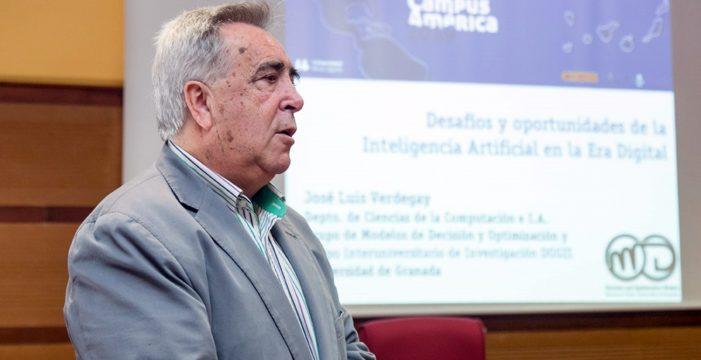 """José Luis Verdegay: """"La Inteligencia Artificial producirá un cambio radical en el trabajo"""""""