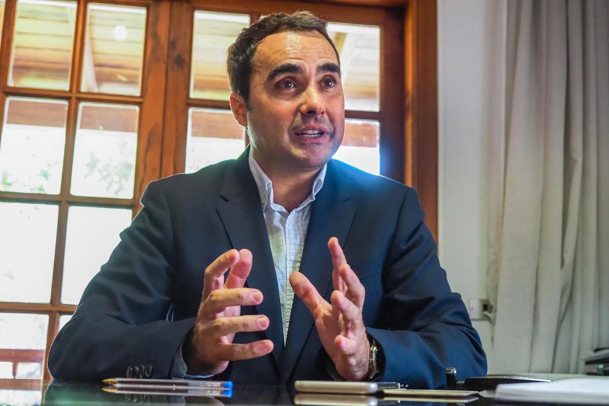 José Daniel Díaz, alcalde de Tacoronte / Foto: Sergio Méndez