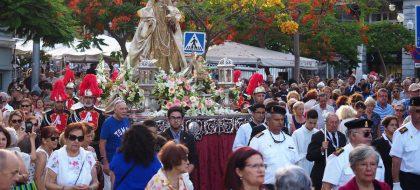 Un siglo de procesión marinera
