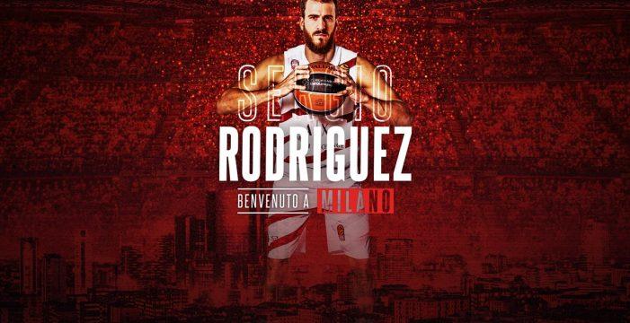 El tinerfeño Sergio Rodríguez ficha tres años por el Olimpia Milano