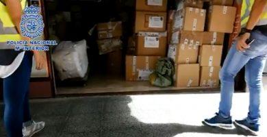Macrooperación contra la piratería industrial en Canarias: incautan 200.000 artículos falsificados