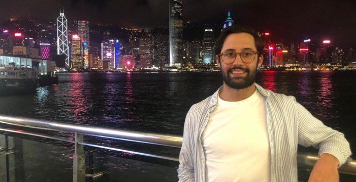 """Romén, futuro consultor sanitario en Hong Kong: """"Me veo trabajando en una ciudad europea que cuente con vuelos directos a Tenerife"""""""