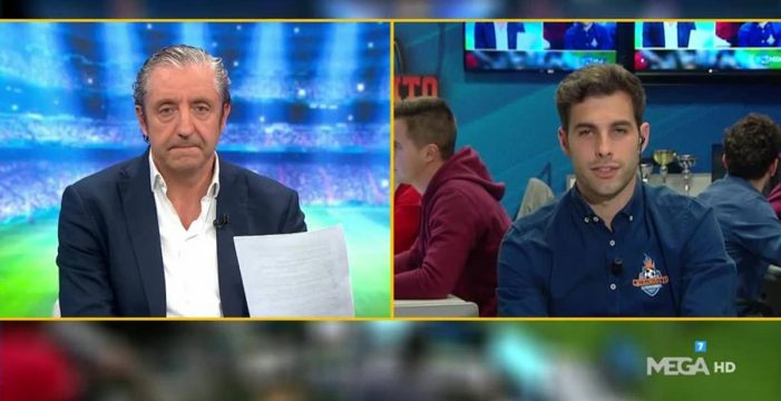 """Marcos Benito, el periodista tinerfeño de 'El Chiringuito' que cautivó a Josep Pedrerol: """"Su llamada fue la mejor noticia de mi vida"""""""