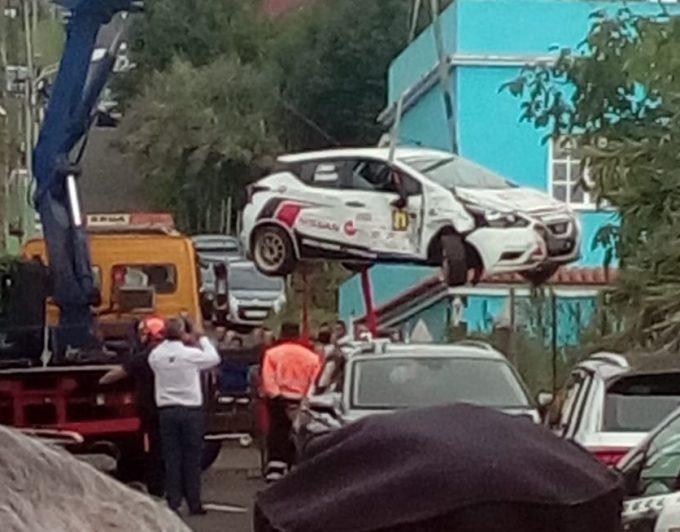 Desesperación, gritos y nerviosismo: así fueron los instantes posteriores al accidente mortal en el Rallye Ciudad de La Laguna