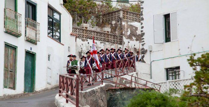 Taganana revive con su Librea la defensa contra el almirante Nelson
