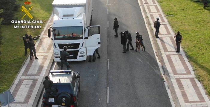 Así fue la espectacular detención del camionero yihadista en Pamplona