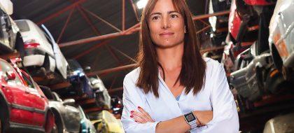 """Yurena Rodríguez: """"Pasamos de tener mala imagen a ser referente en el reciclaje del automóvil"""""""