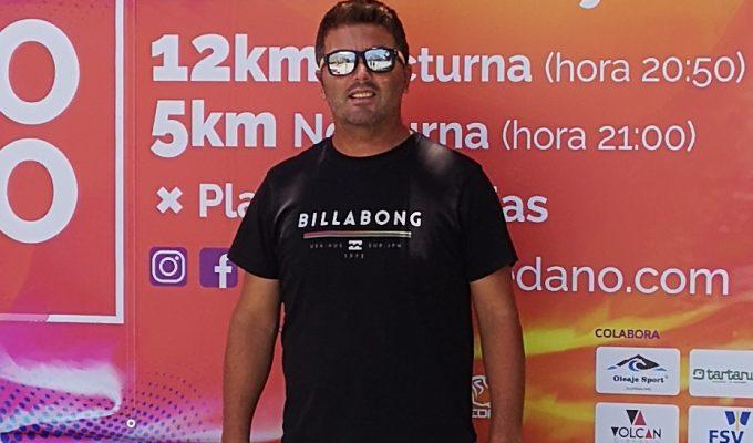 """""""Tenemos corredores de más de 20 nacionalidades"""" Tejito Alonso, organizador del Trail Nocturno de El Médano"""
