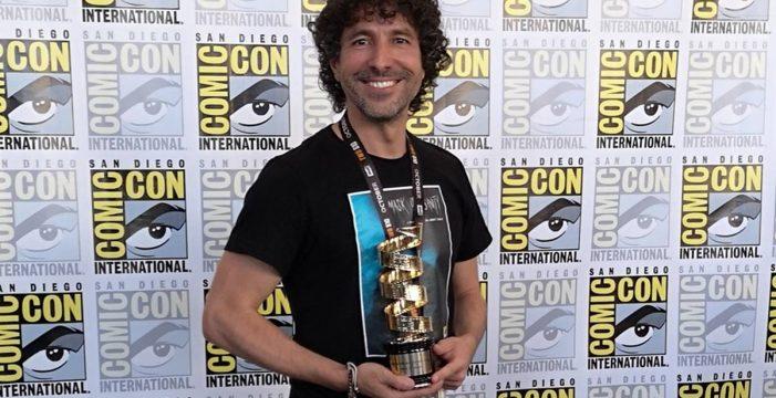 El canario Fran Casanova triunfa en la Comic-Con de San Diego