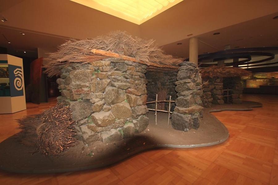 Imagen de uno de los elementos de la exposición del Museo Arqueológico. DA