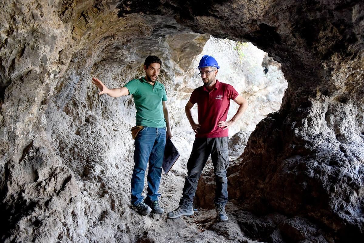 Cueva del Mencey Bencomo, en la ladera de Tamaide, justo en el límite entre los municipios de La Orotava y Santa Úrsula. Sergio Méndez