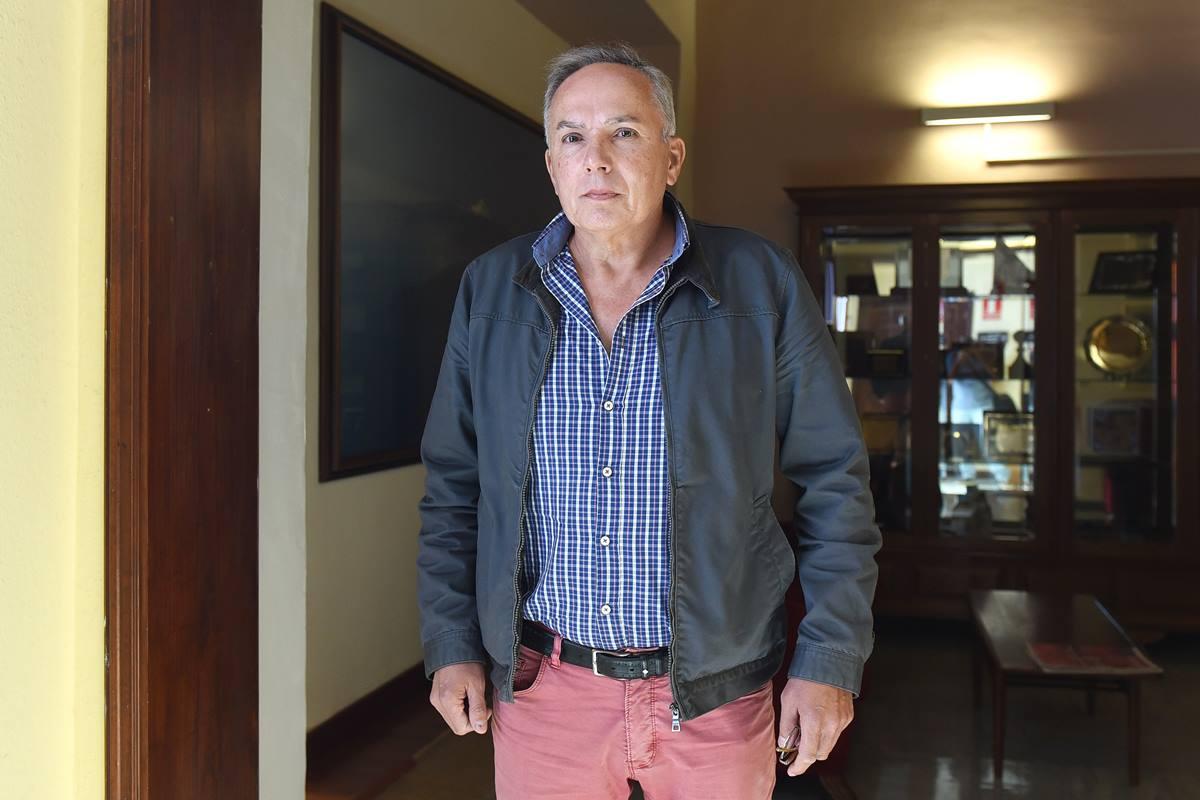 El empresario José Padilla, tras declarar ante la comisión municipal del caso Grúas en marzo de 2017. Sergio Méndez