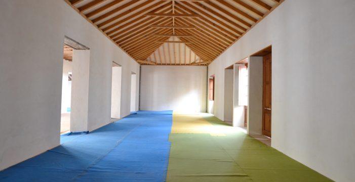 La restauración de la Casa Díaz Fragoso estará concluida en cuatro meses