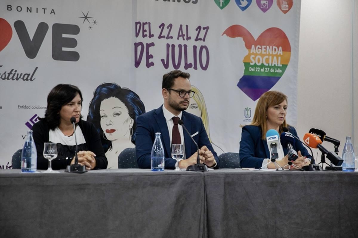 Imagen de la presentación, en 2018, de la potente agenda social del Love Festival, que se reedita este año. DA