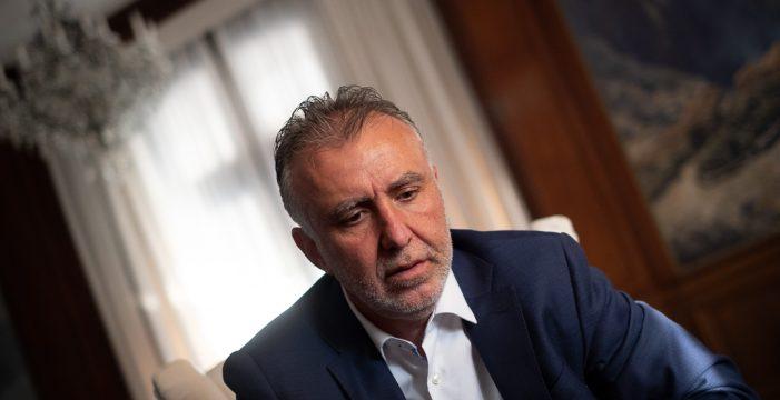 """Ángel Víctor Torres: """"Los ataques a Morera y Sánchez generaron un sentimiento interno en el PSOE de echar a CC"""""""