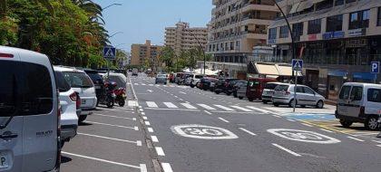 Acaban con el principal punto de venta ambulante de coches en Arona