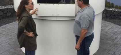 Fuencaliente pone de nuevo en funcionamiento el Telescopio Solar del Sur