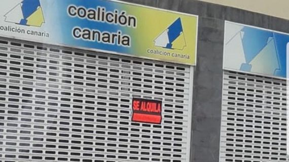 Otra imagen de la caída de CC: el alquiler de sus 'cuarteles generales'